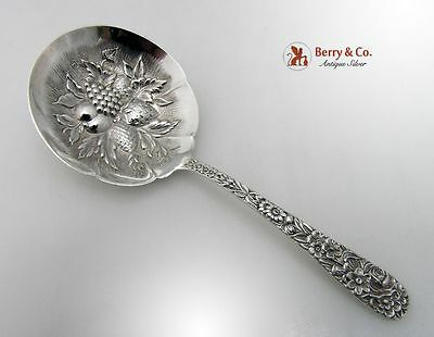 Repousse Bon Bon Candy Nut Spoon Kirk And Son Sterling Silver