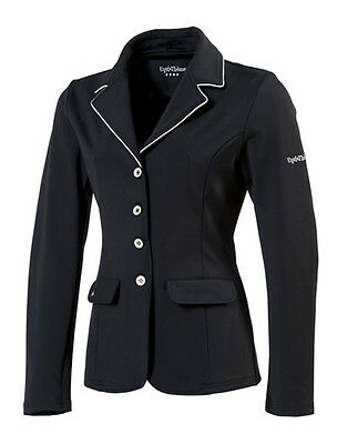 Equi Theme Damen Turnierjacket Soft Light schwarz