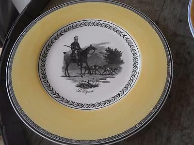 Villeroy and Boch Audun Chasse Dinner Plate MINT