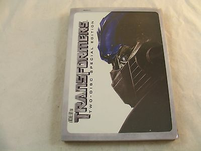 TRANSFORMERS (2007) DVD 2-Disc Special Edition - Discs are Mint !