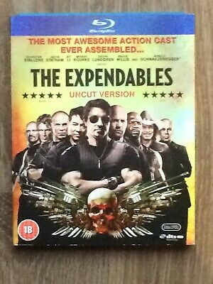 The Expendables: Uncut Blu-Ray (2010) Sylvester Stallone