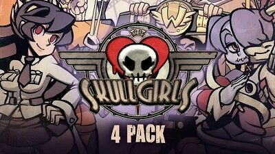 Skullgirls + 4 DLC (Steam) (PC, 2013)