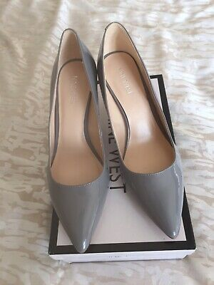00c36f4d0aab Gorgeous Grey Brand New NINE WEST shoes Size 7.5 USA 5 uk