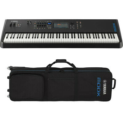Yamaha MODX8 88-Key Weighted Action Keyboard Synthesizer BUNDLE W/ Gigbag *New*