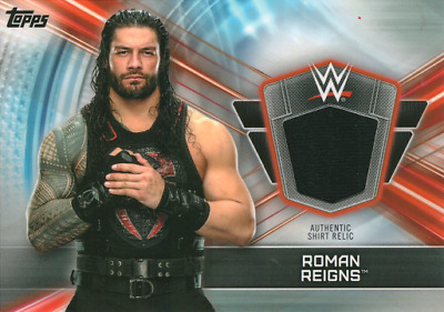 WWE Champions 2019 Authentic Worn Shirt Relic Roman Reigns