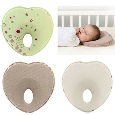 1 Pcs Anti Flat Head Baby Pillow Syndrome Infant Prevent Plagiocephaly Cotton