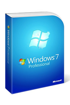 Microsoft Windows 7 pro SP1 Professionnel 32 ou 64bit Pack complet avec DVD