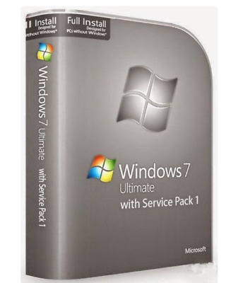 Windows 7 Ultimate Version Complète RETAIL Sp1 35 langues disponibles 1DVD64bit