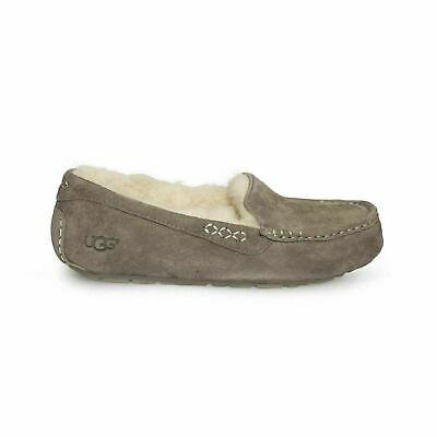837e8065ddb UGG ANSLEY CHESTNUT Suede Moccasins Slippers Shoes Size US 9 Womens ...