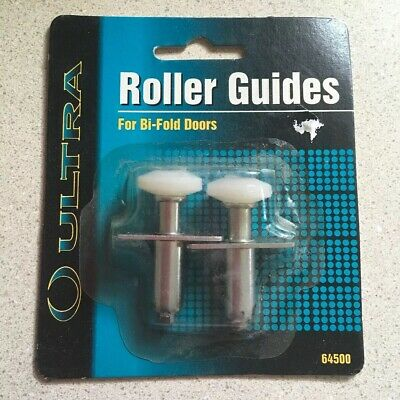 "Roller Guides For Bi-fold Doors 64500 Ultra 3/4"" Diameter Closet Doors"