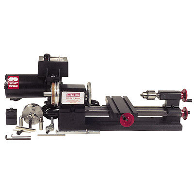 """Sherline Lathe 8"""" with accessories for  project"""