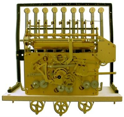 URGOS 9 TUBE GRANDFATHER CLOCK MOVEMENT only for project UM03108