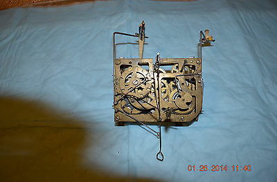Vintage Cuckoo Clock movement cuckoo parts or project set of 1