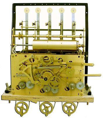 URGOS 5 TUBE GRANDFATHER CLOCK MOVEMENT only for project UM03121