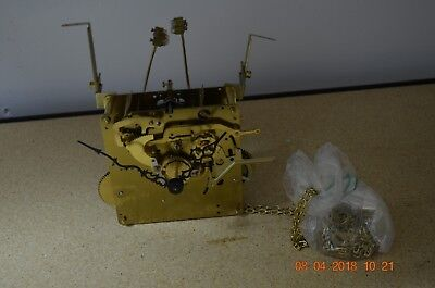Urgos Grandfather Clock Movement Westminister Chime chain driven for project