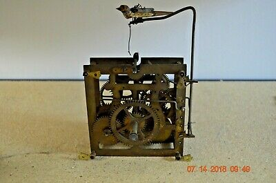 ANTIQUE CUCKOO CLOCK MOVEMENT from WALL Cuckoo Clock with Cuckoo Bird