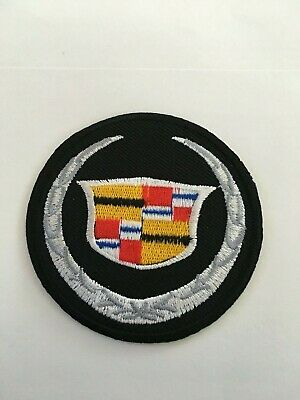 """CADILLAC 2-3/4"""" Iron/Sew On New Embroidered Patch"""