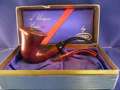 GBD Unique Calabash shape w/Case & 2 stems made in London by Horry Jameson GM122