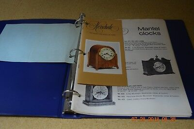 Herschede 9 or 5 tubes and Mantle and Grandfather clock instructions pictures