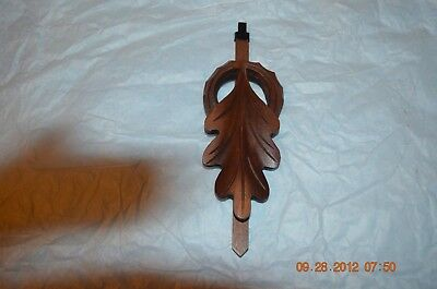 Cuckoo Clock pendulum 1 day Oak Leaf set of 1 for project