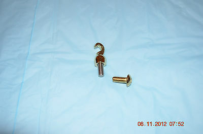 BRAND NEW GRANDFATHER CLOCK BRASS HOOK for WEIGHT set of 1