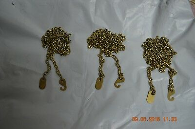 Grandfather Clock chains for Urgos movement set of 3 for project