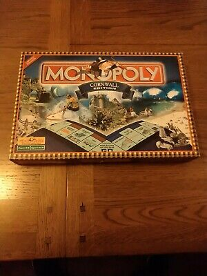 Monopoly Cornwall Special Limited Edition Board Game Hasbro 2001 - 100% Complete