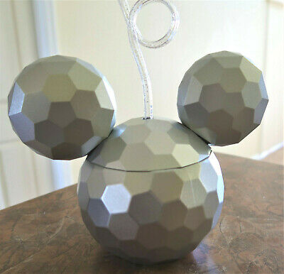Disney Parks MICKEY Mouse ICON Epcot Spaceship Earth Sipper Cup Tumbler NEW