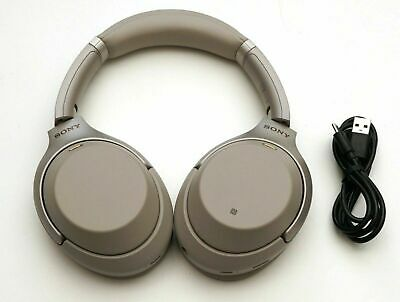 Sony Wh-1000Xm3/S  Bluetooth Wireless Over-Ear Noise Cancelling Silver Wh1000Xm3