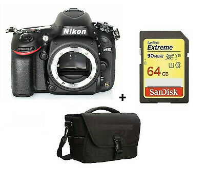 Nikon D610 24.3MP Digital SLR Camera - Black (Body Only) Brand New Stock in UK