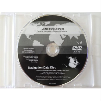2016 GM Cadillac Buick Chevrolet GMC Navigation DVD Map Update 14.3 23286667 .