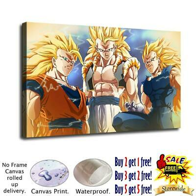 """12""""x20""""Dragon Ball HD Canvas prints Painting Home Decor Picture Room Wall art"""