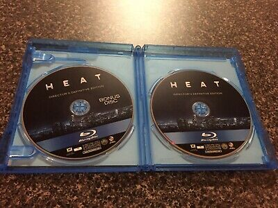 Heat (Blu-ray Disc, 2017, 2-Disc Set, Directors Definitive Edition)