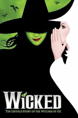Wicked Broadway Musical Cool Art Silk Poster 12x18 24x36