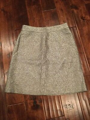8aa6049f40 Kate Spade New York Shimmering Silver Skirt