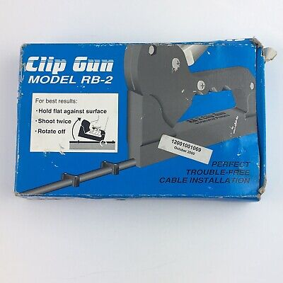 Clip Gun RB-2 For RG6 & RG11 Coaxial cable
