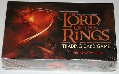 Lord of the Rings TCG, Mines of Moria Booster Box 36 Packs FACTORY SEALED