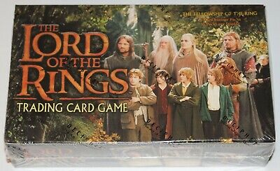 Lord of the Rings TCG, Fellowship of the Rings Booster Box 36 Packs SEALED NEW