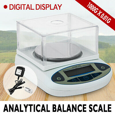 1000g x 0.01g Lab Scale Balance      Analytical Balance Pocket Jewellery Gold