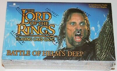 Lord of the Rings TCG, Battle of Helms Deep Booster Box 36-Pack FACTORY SEALED