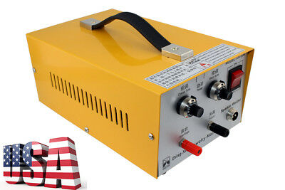 Pulse Sparkle Spot Welder Jewelry Welding Machine Gold Silver Platinum 110V/220V
