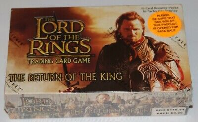 Lord of the Rings TCG, The Return of the King Booster Box 36 Packs SEALED NEW