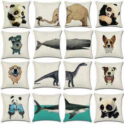 """18"""" Hot Vintage Cushion Cover Pillow Case Waist Throw Home Sofa Decor Out/Indoor"""