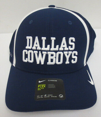 1a84119b4 Dallas Cowboys Hat Cap Nike Classic99 Swoosh Flex Unisex Nfl M/L Fit  Football