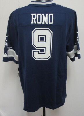 new style 8c267 2acc6 TONY ROMO NAVY Limited Nike Jersey Mens Stitch Nfl Football ...