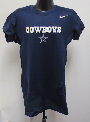 Nike Men's Pro Combat NFL Dallas Cowboys Dri Fit Sleeveless
