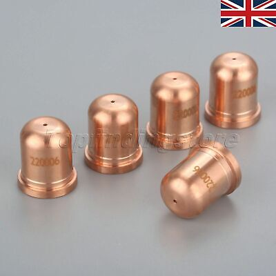 220006 Plasma Consumables Nozzle for 1000 1250 1650 RT60 RT80 Unshielded 40A UK