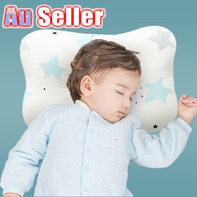 Baby Infant Newborn Flat Square Support Head Neck Pillow Syndrome Prevent