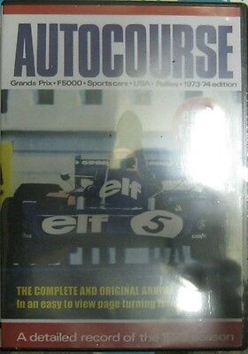 * Autocourse 1973 / 74 -  Review of International Motor-Sport  - eBook Edition