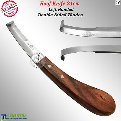 Professional Farriers Horse Hoof Knife Knives Left Handed Equine Trimming Tools